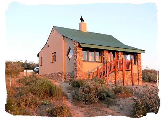 Chalet in the Namaqua national park - Namaqualand National Park and the Namaqua flowers spectacle