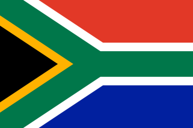 Colours of the South African Flag, Flying the South Africa Flag