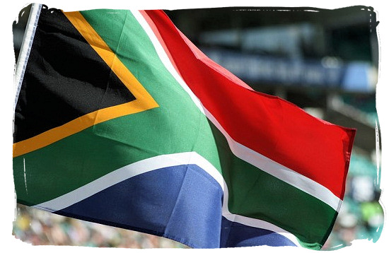 Flying the Flag of South Africa - Colours of the South African Flag