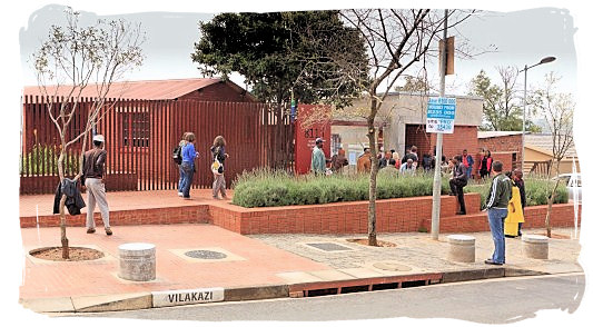 Nelson Mandela house in Vilakazi street, Orlando West, an urban area in Soweto Johannesburg - City of Johannesburg South Africa Attractions, the Top 15