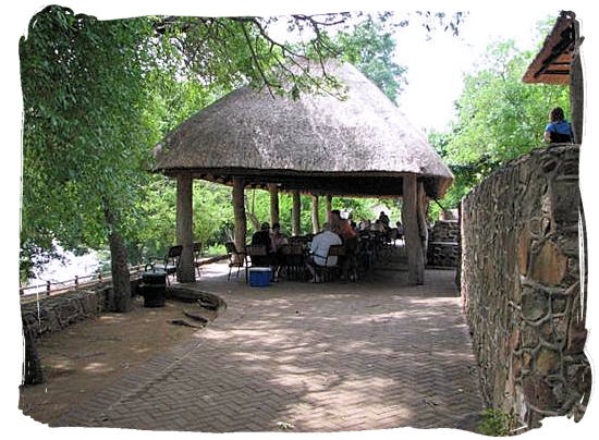 The Nkuhlu pick nick site between Skukuza and Lower Sabie Rest Camp in the Kruger National Park, South Africa