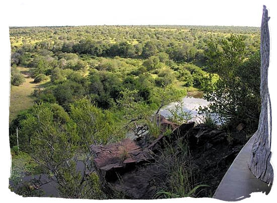 N'wanetsi Dam lookout not far from Satara - Satara Rest Camp in the Kruger National Park South Africa