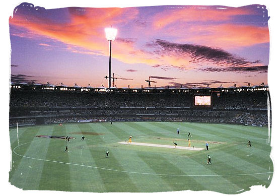 One day cricket match between Australia and South Africa - South Africa cricket