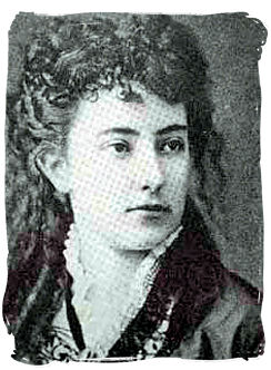 """Olive Schreiner, writer of the novel <i>""""The Story of an African Farm""""</i> in 1883 - Literature in South Africa"""