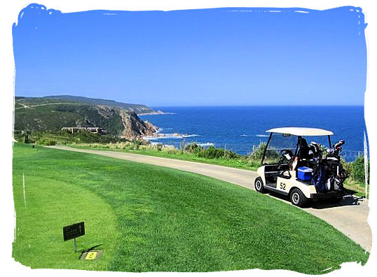 Sun, sea and golf, a perfect combination on the Pezula golf course at Knysna - Knysna Activities, Attractions and Festivals in South Africa