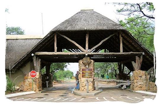 Phalaborwa entrance gate to the Kruger National Park