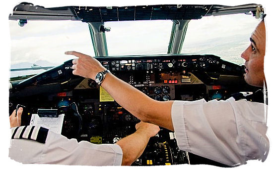 The men at the steering wheel - Cheap Flights to Cape Town International Airport South Africa