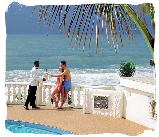 Enjoying a poolside drink at one of the great beachfront hotels - Ode to Kwazulu Natal Province, Tourism, South Africa