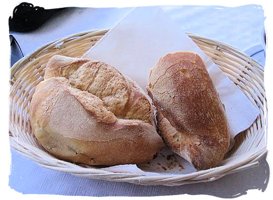 Bread rolls - Portuguese cuisine in South Africa
