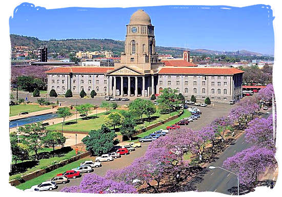 The Pretoria City Hall - South Africa Government, South Africa Government type