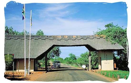 Punda Maria entrance gate to the Kruger National Park