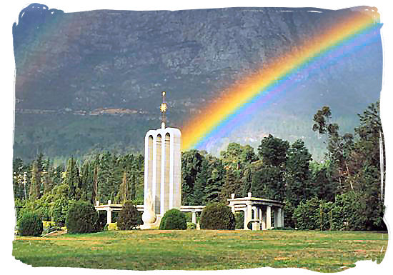 The Huguenot monument and museum in Franschhoek