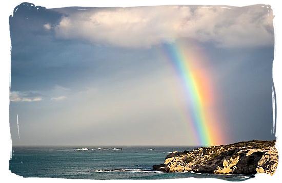 Rainbow over Waenhuiskrans