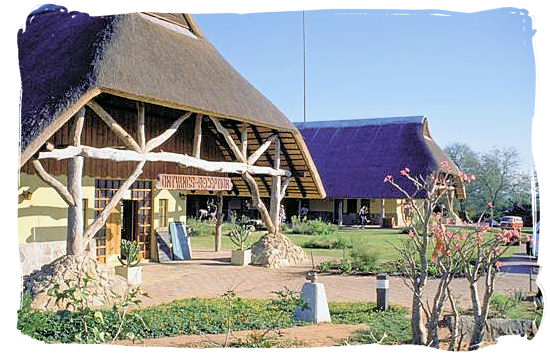 Reception and Information offices - Skukuza Safari, Travel and Accommodation