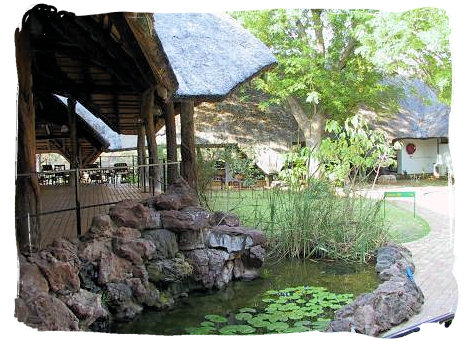 Restaurant complex at the camp - Shingwedzi Rest Camp, Kruger National Park, South Africa
