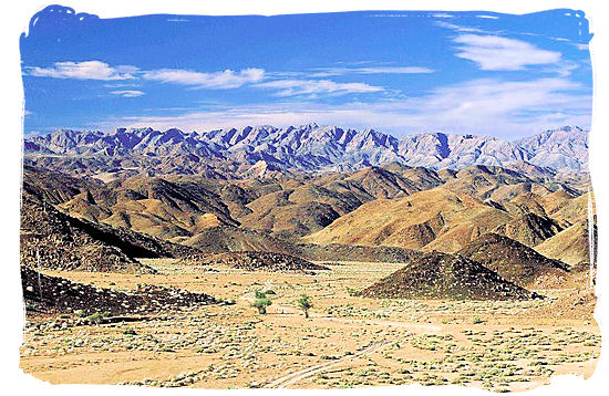 Mountain landscape in the Richtersveld