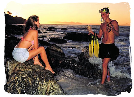 Romance on the beach - Activity Attractions in Cape Town South Africa and the Cape Peninsula