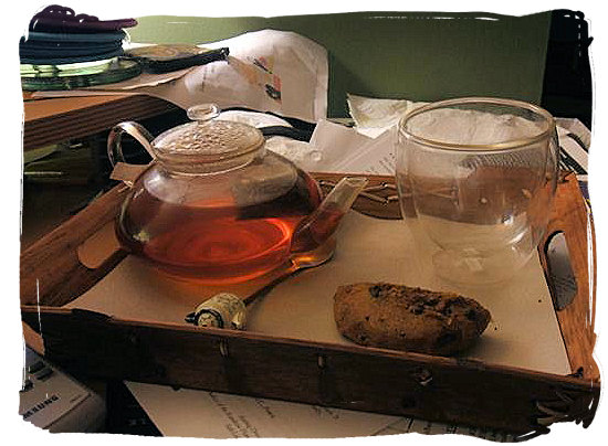 Rooibos Tea - South African food adventure, South Africa food