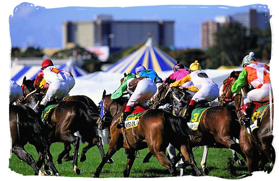 The Durban July Handicap is a South African Thoroughbred horse race held annually on the first Saturday of July since 1897 at Greyville Racecourse in Durban - South Africa Sports Top Ten South African Sports