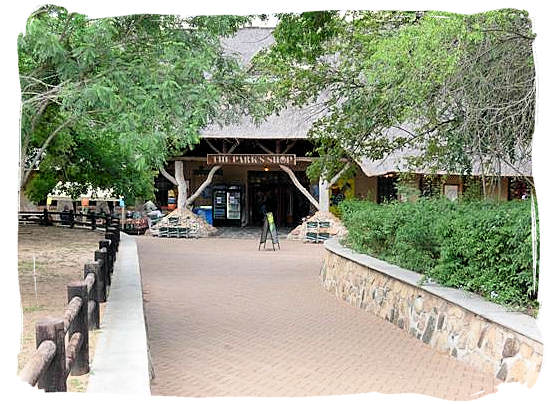 Shop entrance - Skukuza Safari, Travel and Accommodation