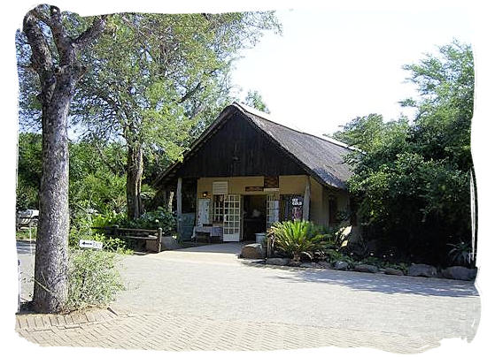 The small well-stocked shop at the Orpen camp in the Kruger National Park, South Africa