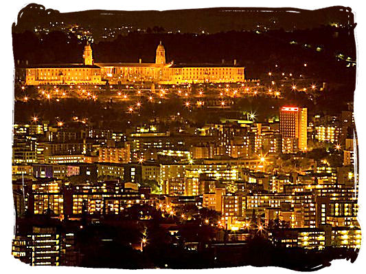 Pretoria, Gauteng province, capital city of South Africa