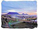 Urban roads around Cape Town