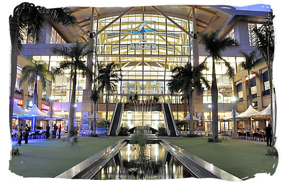 Gateway Theatre of Shopping at Umhlanga South Africa