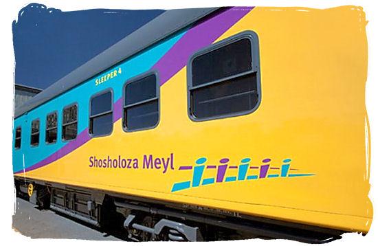 The Shosholoza Meyl long-distance passenger train service