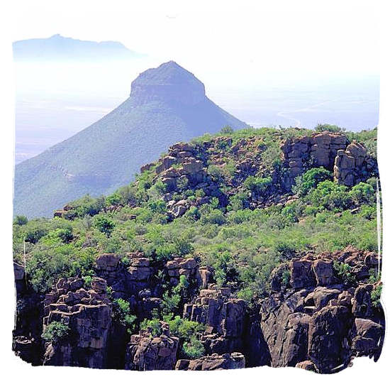 Spandou kop (hill) - Camdeboo National Park, Karoo Nature Reserve, South Africa