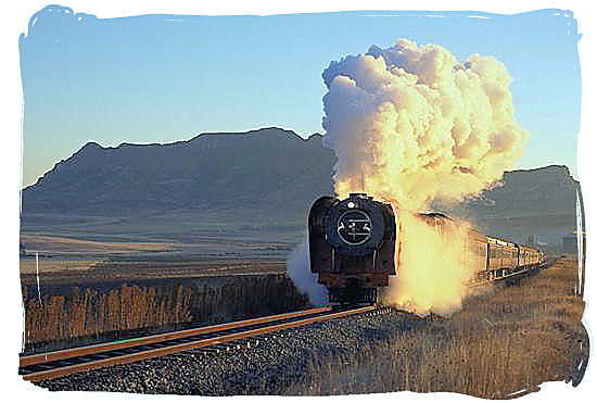 Enjoy the luxury and romance of a steam train safari