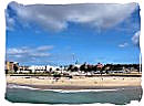 Summerstrand beach at Port Elizabeth
