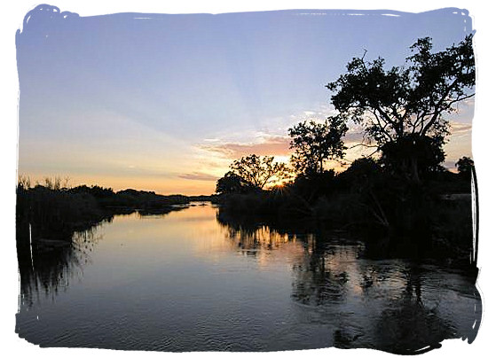 Sunrise over the Sabie river - Skukuza Safari, Travel and Accommodation
