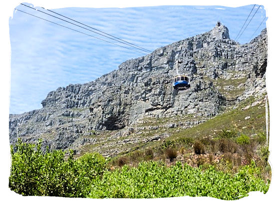 Enjoy a breathtaking cable car ride to the top of Table Mountain - Table Mountain Cape Town South Africa