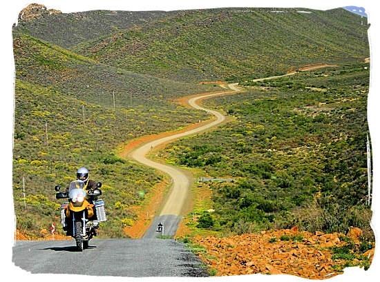 Gravel roads in the Tankwa Karoo Park - Tankwa Karoo National Park, National Parks in South Africa