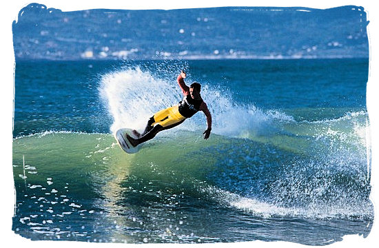 Cape Town and the Cape Peninsula offer some of the best surfing waves in the world - Activity Attractions in Cape Town South Africa and the Cape Peninsula