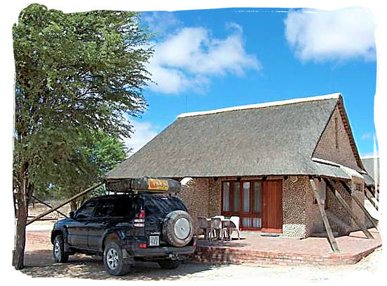 Accommodation at Twee Rivieren rest camp - Kgalagadi Transfrontier Nationa Park in the Kalahari