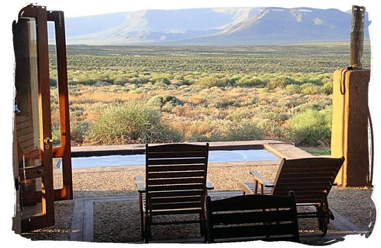 View from Elandsberg Wilderness Camp - Tankwa Karoo National Park, National Parks in South Africa