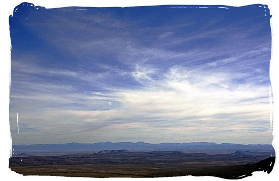 Beautiful Tankwa panorama taken from Ganaga Pass - Tankwa Karoo National Park, National Parks in South Africa