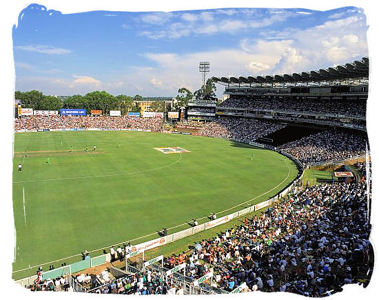 The Wanderers cricket stadium at Johannesburg - Big 3 of South African Sports, South Africa Sports Top Ten