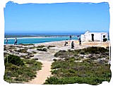 Langebaan lagoon in the West Coast National Park