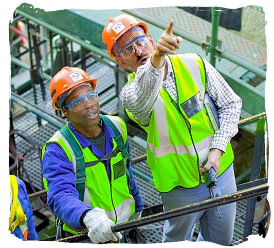 Workers at a plant owned by Sasol, South Africa's petrochemicals giant - Best Jobs in South Africa, South African Jobs Search Engine