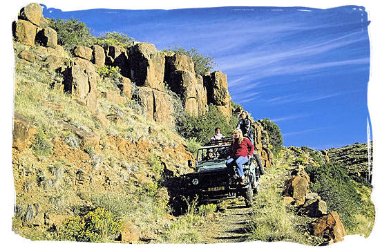 The Karoo National Park South Africa, Little Karoo, Great Karoo - 4 x 4 trail in the Karoo National Park