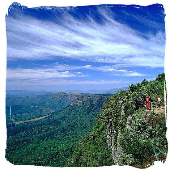 Drakensberg escarpment view in the Mpumalanga province - Travel in South Africa, South Africa travel information