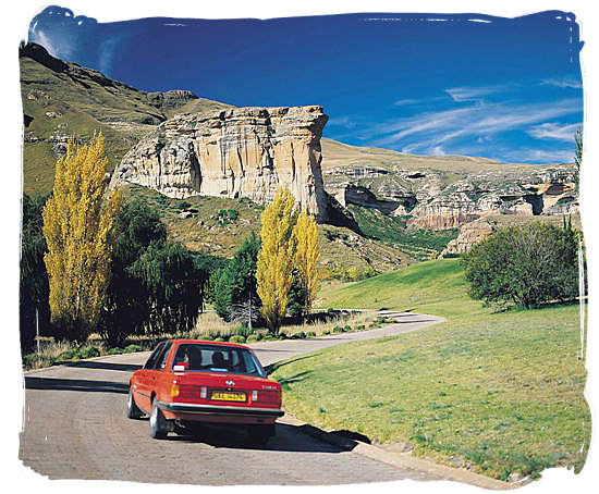 Golden Gate Highlands national Park in the Free State province - Cheap South Africa Car Rental, Car Hire in South Africa Info