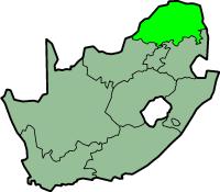 Limpopo province - map position