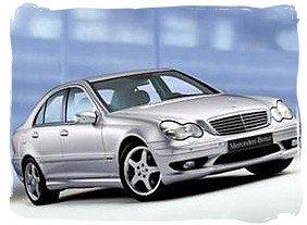 Mercedes Benz 180C - South Africa rental car.
