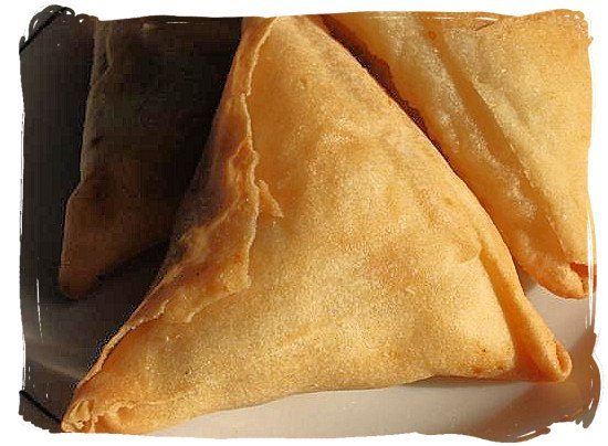 Indian samoosas (South African spelling) - Indian Cuisine in South Africa, Indian Food Images