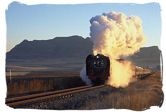 Steam train safaris in South Africa