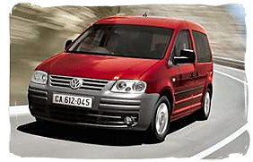 Volkswagen Caddy - South Africa rental car.
